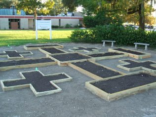 Chapel Center garden 027